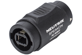 Neutrik NL4MMX Speakon Adaptor