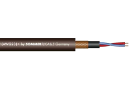 Sommer Cable Club Black Zilk